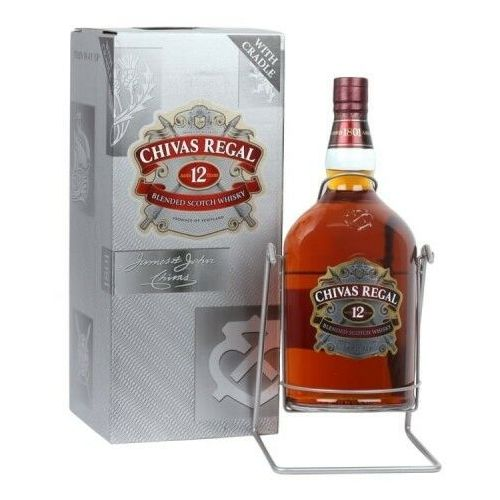 Whisky chivas regal 12yo 4,5l kołyska marki Chivas brothers
