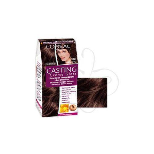Casting Creme Gloss farba do włosów Chatain Clair 500 Jasny brąz, L'Oreal Paris