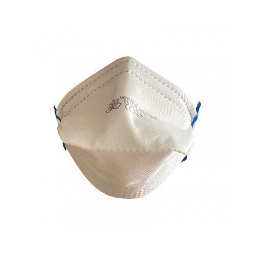 Półmaska jednorazowa FFP 2 DUCK z gumkami za głowę - filtrująca bez zaworka - 1 sztuka