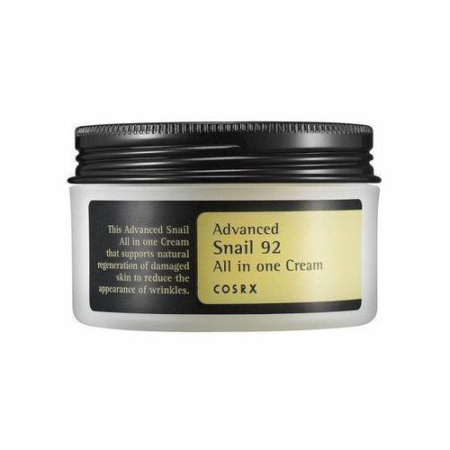 COSRX Advanced Snail 92 All in One Cream - 100 ml Wielozadaniowy krem ze śluzem ślimaka, COSKR100