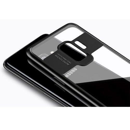 Etui Alogy Samsung Galaxy S9 przezroczyste z niebieską ramką - Niebieski