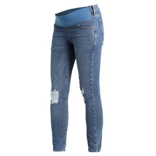 Topshop Maternity JAMIE Jeans Skinny Fit mid blue (5045440961042)