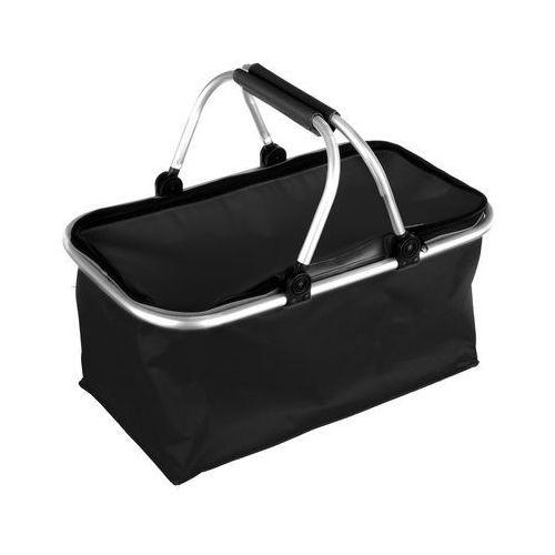 Koszyk na zakupy kemping czarny marki 4home