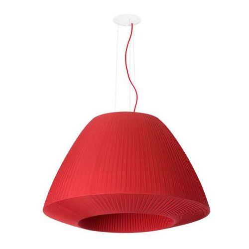 2BM:: Lampa wisząca BELLA Ø60cm - Z EKSPOZYCJI - czerwony
