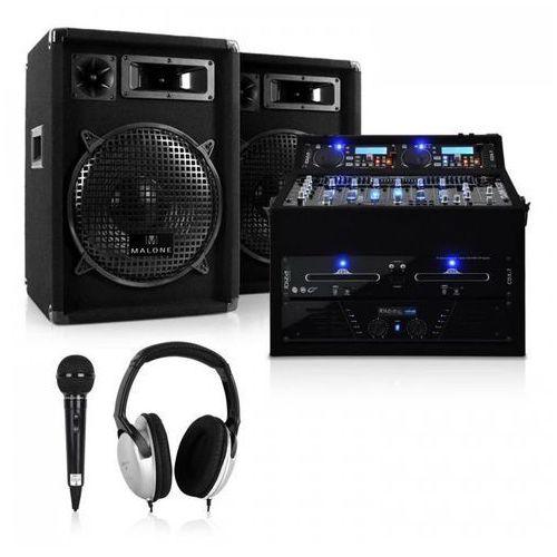 DJ PA Set rack gwiazdkowy 1200W
