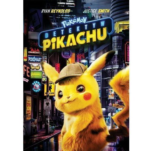 Rob letterman Pokemon detektyw pikachu (płyta dvd)