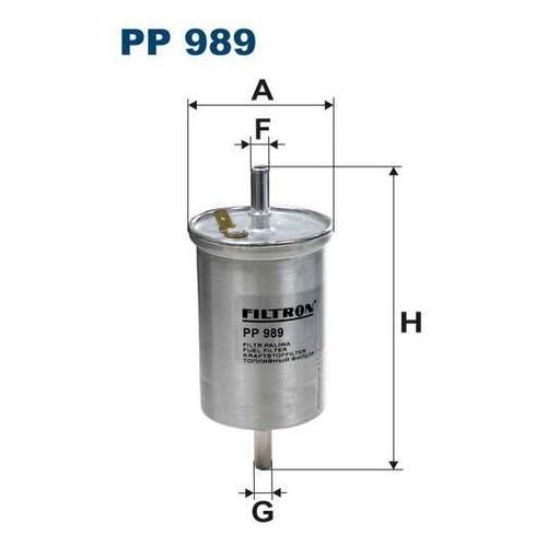 Filtron 989 pp filtr paliwa smart 0,8cdi 99-07 (5904608009890)