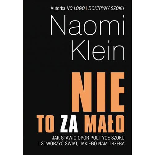"""""""Nie"""" to za mało - Naomi Klein (EPUB)"""
