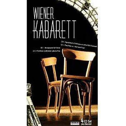 Membran Various artists - wiener kabarett (4cd)