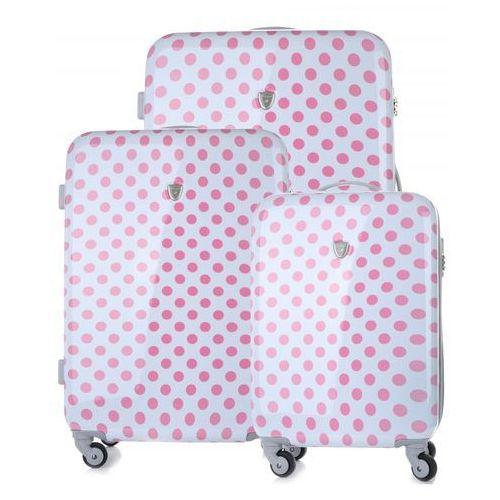 2dcdfa91a8fe9 Modne walizki w kropki zestaw 3w1 firmy białe (kolory) marki Madisson  659,00 zł Niezależnie od tego, czy wybierasz się na niedługi wypad za  miasto, ...