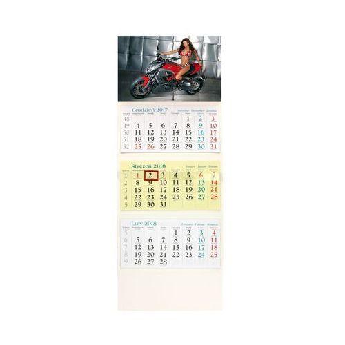 Kalendarz trójdzielny Motor KT20