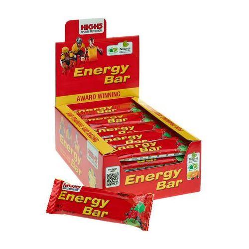 High5 EnergyBar Żywność dla sportowców Red Fruits 25 x 60g 2018 Zestawy i multipaki