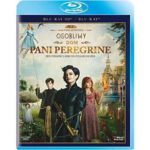 Imperial cinepix Osobliwy dom pani peregrine 3d (2bd)