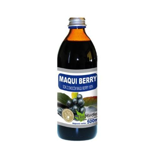 Eka Medica Maqui Berry Sok z Maqui Berry 100% 500ml, EKO MEDICA