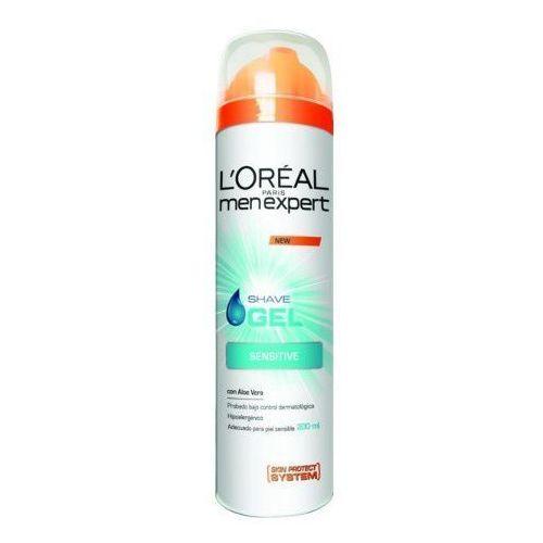 L'Oréal Żel do golenia nawilżający dla skóry wrażliwej Men Expert Hydra (Wrażliwe żel do golenia) 200 ml (3600521605936)