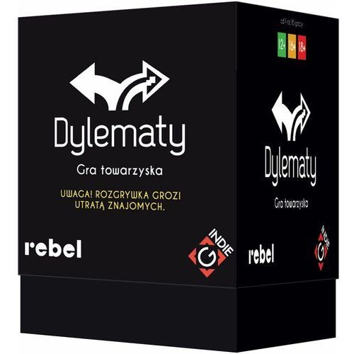 Rebel Gra dylematy (druga edycja) - darmowa dostawa od 199 zł!!!