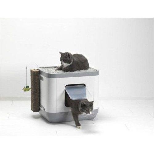 Yarro cube multi box domek, toaleta, legowisko dla kota z materacem termoelastycznym (5412087012091)