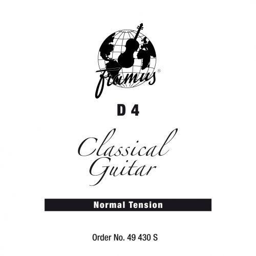 classic - struna pojedyncza do gitary klasycznej, d 4,.030, wound, normal tension marki Framus