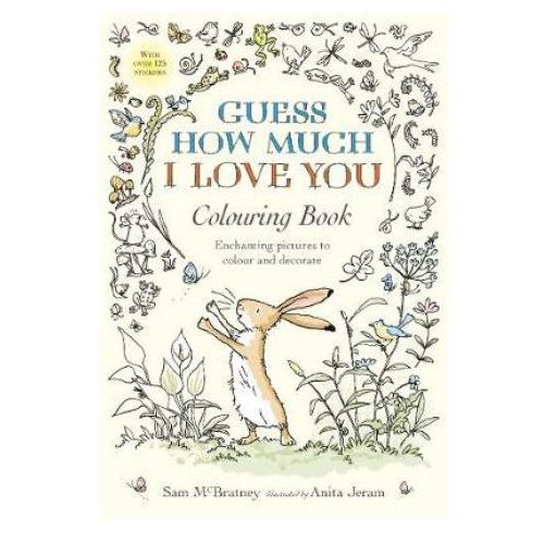 Guess How Much I Love You Colouring Book (9781406374919)