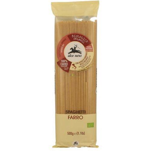 Alce nero Makaron spaghetti orkisz bio 500g (8009004120105)