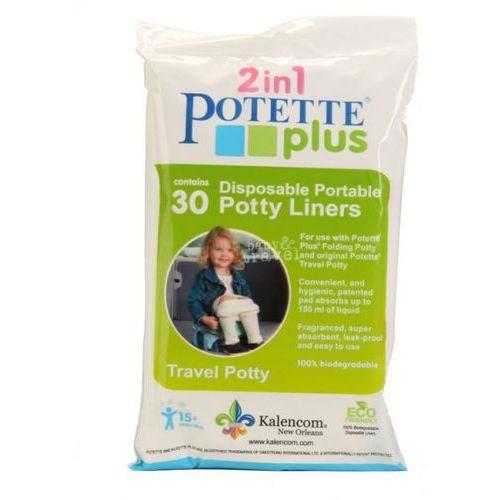 30 jednorazowych wkładów do nocnika marki Potette plus