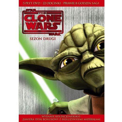 Gwiezdne Wojny: Wojny Klonów, Sezon 2 (5 DVD) - Galapagos
