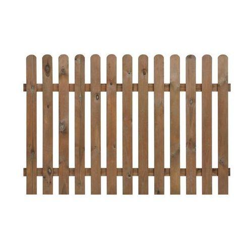 Naterial Płot sztachetowy 180x120 cm drewniany nive (5901171196033)