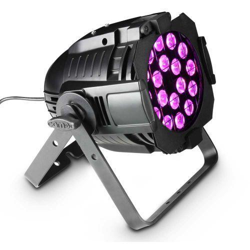 studio par 64 can rgba q 8w - reflektor par 18x8w quad led rgba w czarnej obudowie marki Cameo