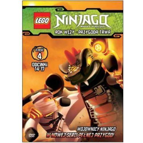 LEGO NINJAGO. ROK WĘŻY. PRZYGODA TRWA, CZĘŚĆ 4 GALAPAGOS Films 7321997610069 (7321997610069)