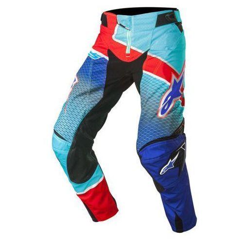 Spodnie alpinestars techstar venom s7 blue/cyan/red marki Alpinestars mx
