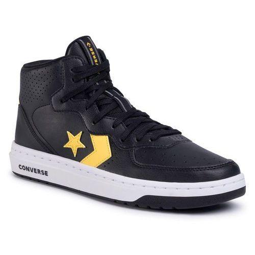 Sneakersy - rival mid 167082c black/amarillo/black marki Converse