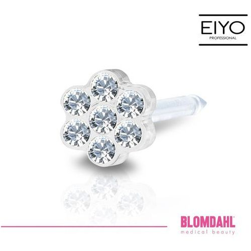 Kolczyk do przekłuwania uszu - daisy crystal 5 mm marki Blomdahl