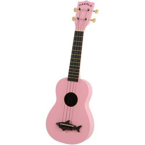 makala shark ss-pnk ukulele sopranowe, różowe marki Kala