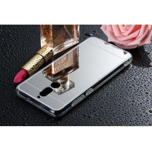Slim Mirror Case Szary   Etui dla Huawei Mate 10 Lite
