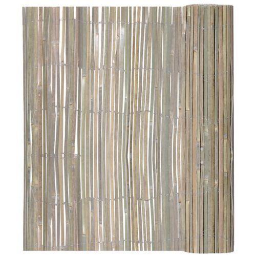 vidaXL Ogrodzenie bambusowe 100 x 400 cm ze sklepu VidaXL