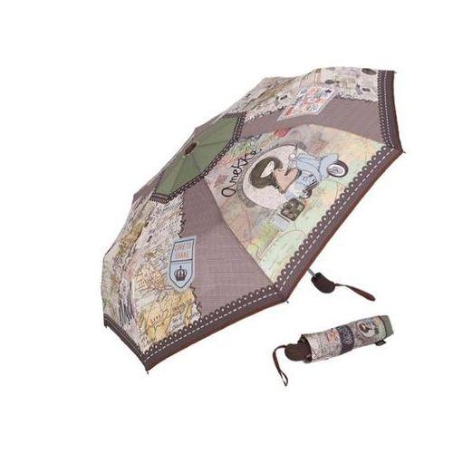 Parasolka automatyczna brązowa marki Anekke