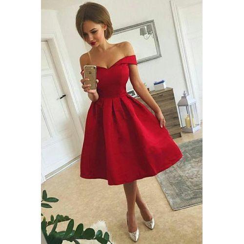 Sukienka KANIRA RED, kolor czerwony