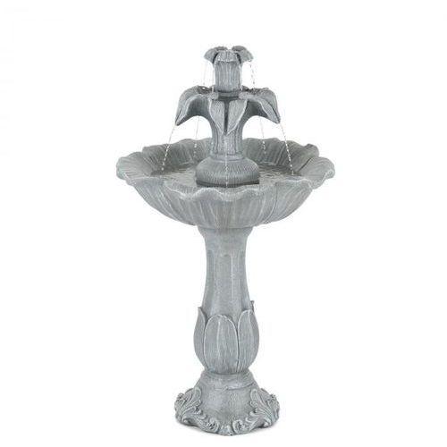 Blumfeldt floreal fontanna ogrodowa z tworzywa polyresin 6 w romantyczne wzornictwo imitacja kamienia (4060656102110)