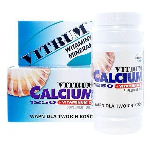 Vitrum Calcium 1250 +vit D3 x 120 tabl., produkt z kategorii- Leki na osteoporozę