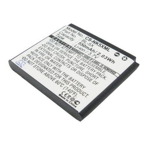 Nokia 8800 / BL-5X 550mAh 2.04Wh Li-Ion 3.7V (Cameron Sino) - produkt z kategorii- Baterie do telefonów