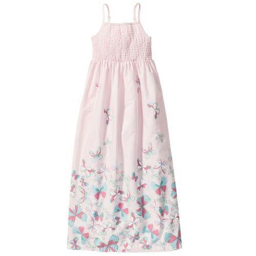 Sukienka bonprix bladoróżowy, kolor różowy