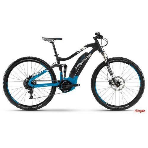 Rower elektryczny sduro fullnine 5.0 czarny/niebieski/biały mat 2018 marki Haibike