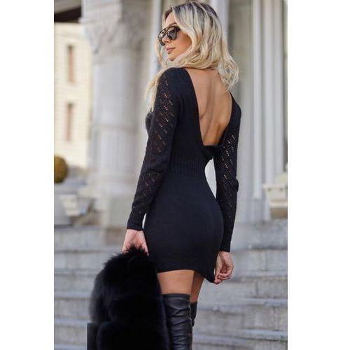Sukienka LANA BLACK, kolor czarny