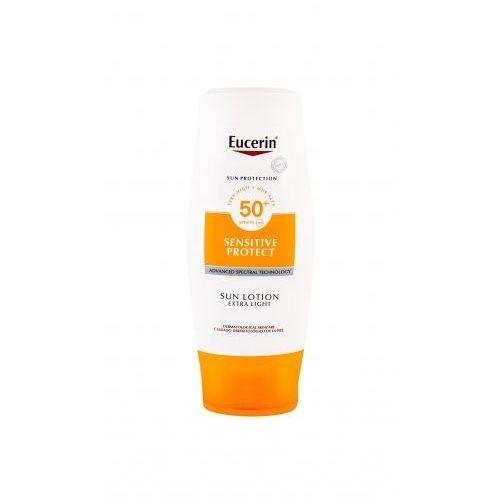 Eucerin Sun Sensitive Protect Sun Lotion SPF50+ preparat do opalania ciała 150 ml unisex (5025970003139)