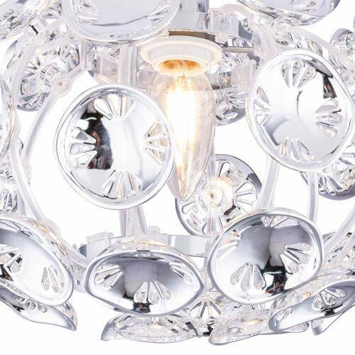 Plafon lampa sufitowa luggo 51500-1d metalowa oprawa glamour chromowana marki Globo