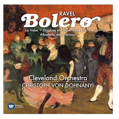 Warner music Ravel: bolero, la valse, dophnis & chloe, alborada del gracioso - christoph von dohnanyi (płyta cd) (0825646771936)