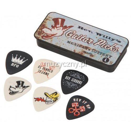 Dunlop T01L Reverend Willy′s 6 kostek gitarowych light