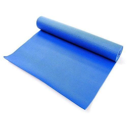 Mata do ćwiczeń fitness - niebieska 180x60x0,5cm - niebieski marki Meteor