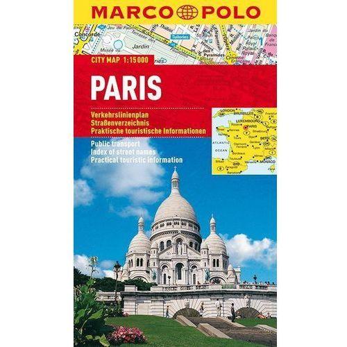 Paryż 1:15 000. Foliowany plan miasta. Marco Polo, Marco Polo