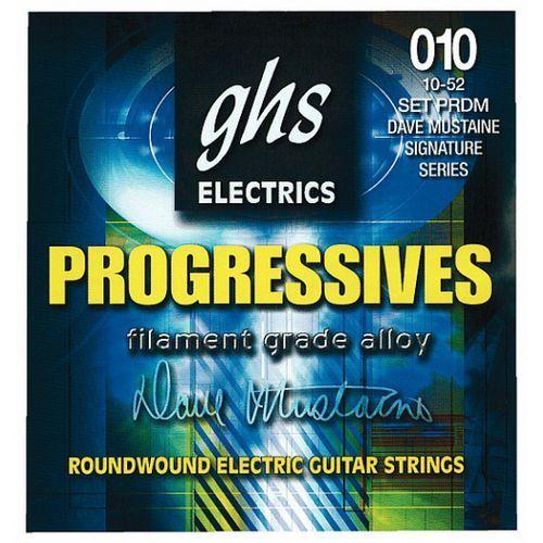 GHS PROGRESSIVES struny do gitary elektrycznej, Custom Light,.009-.046